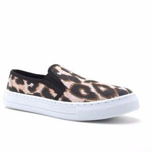 Shoes - Camel Leapard Sneaker